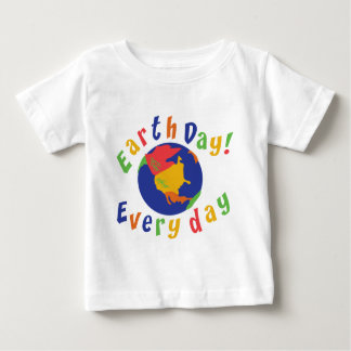 Earth Day Everyday Baby Shirts