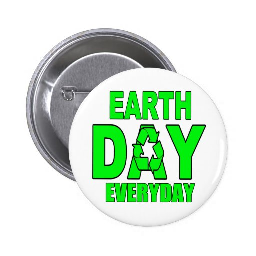 Earth Day Everyday Pins