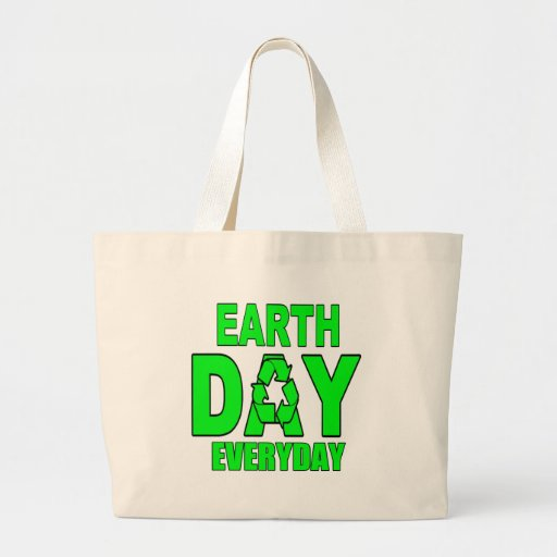 Earth Day Everyday Canvas Bags