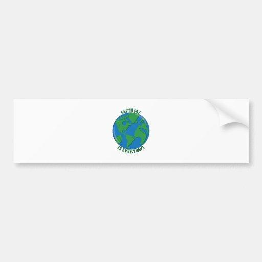 Earth Day Everyday Bumper Sticker