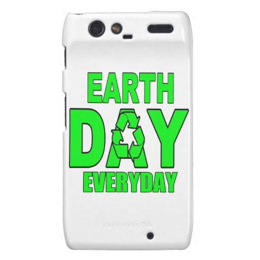 Earth Day Everyday Droid RAZR Case