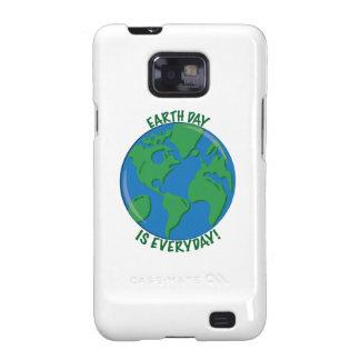 Earth Day Everyday Samsung Galaxy SII Cases