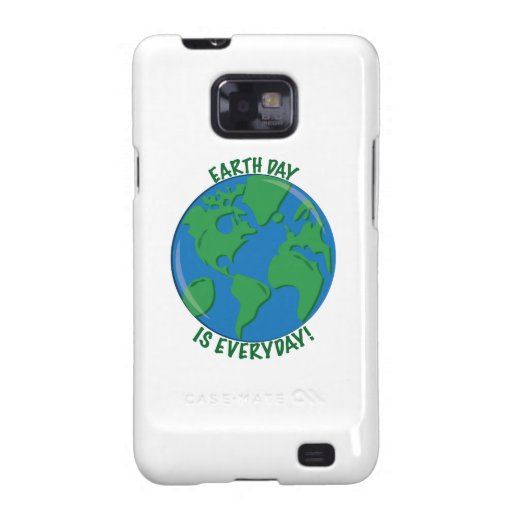 Earth Day Everyday Samsung Galaxy SII Cases