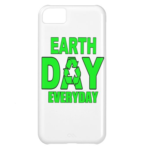 Earth Day Everyday iPhone 5C Cover