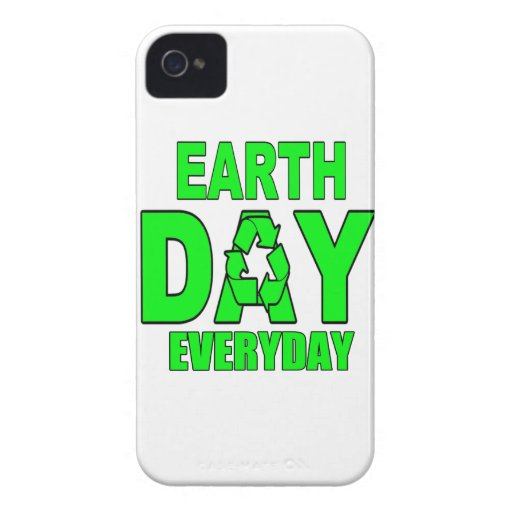 Earth Day Everyday iPhone 4 Cover