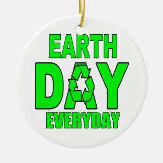 Earth Day Everyday Ornament