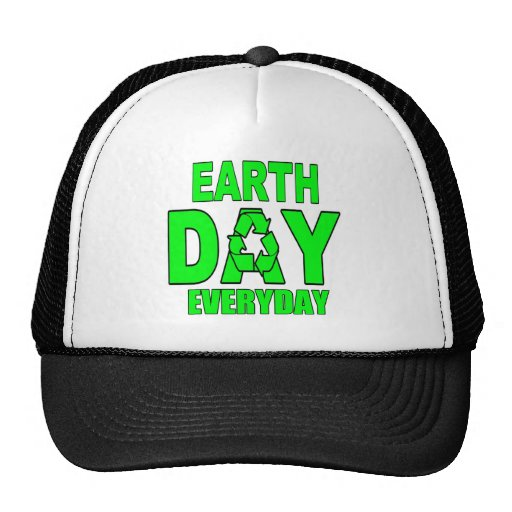 Earth Day Everyday Mesh Hats