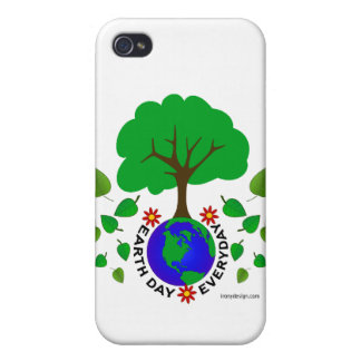 Earth Day Everyday iPhone 4 Cases