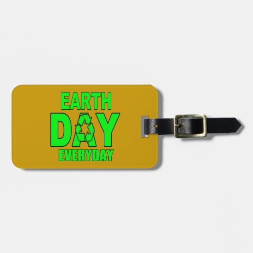 Earth Day Everyday Bag Tag
