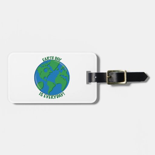 Earth Day Everyday Bag Tags
