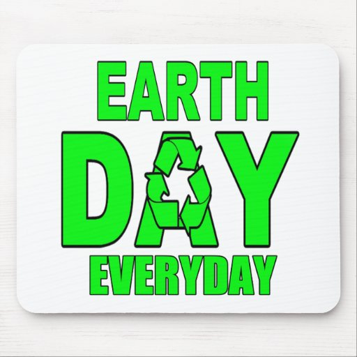 Earth Day Everyday Mouse Pads