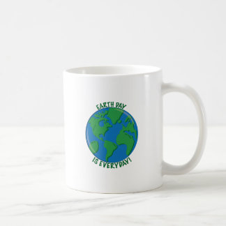 Earth Day Everyday Coffee Mugs