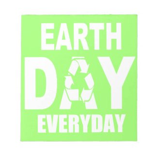 Earth Day Everyday Memo Notepads