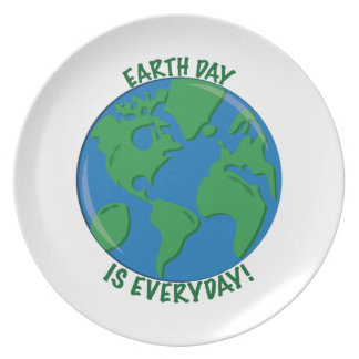 Earth Day Everyday Plates