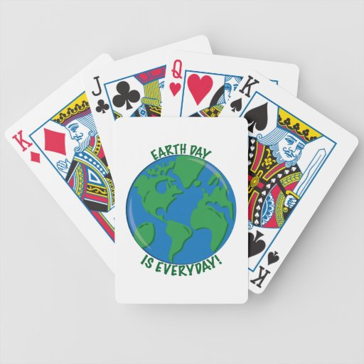 Earth Day Everyday Deck Of Cards