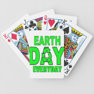 Earth Day Everyday Playing Cards