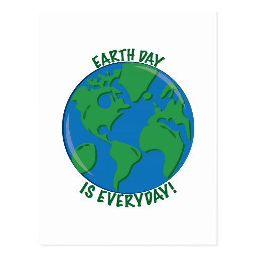 Earth Day Everyday Post Cards