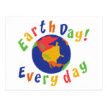 Earth Day Everyday Postcard