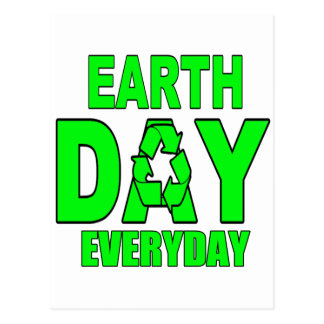 Earth Day Everyday Post Card
