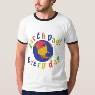 Earth Day Everyday Tee Shirts