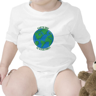 Earth Day Everyday Rompers