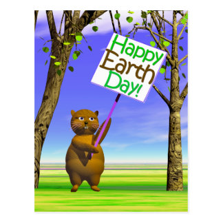 Earth Day Greeting Postcard