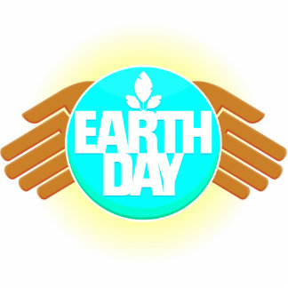 earth day hands design photo cutout