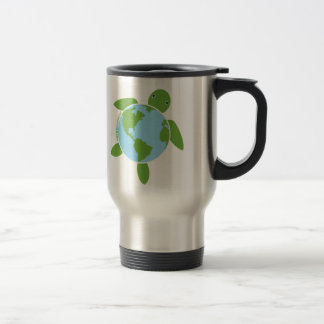 Earth Day Honu Stainless Travel Mug