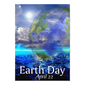 Earth Day Invitation