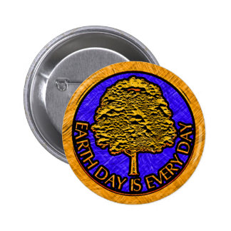 Earth Day Is Every Day Pins