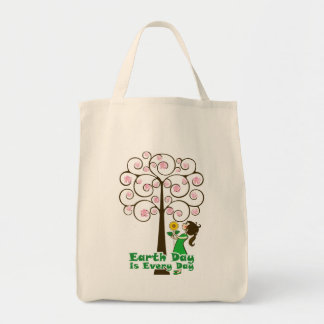 Earth day is every day tote bag