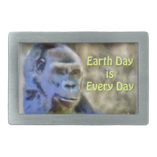 Earth Day is Every Day Belt Buckle