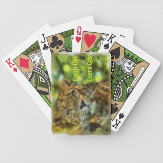 Earth Day is Every Day Bicycle Playing Cards