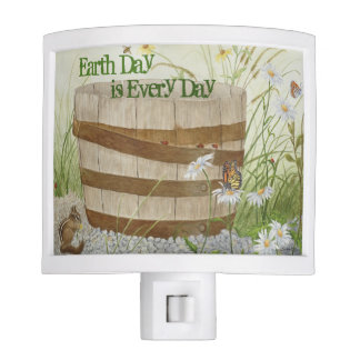 Earth Day is Every Day - Night Light