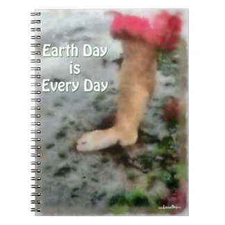 Earth Day is Every Day Notebook