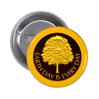 Earth Day Is Every Day Pin