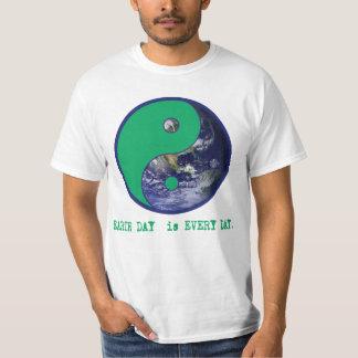 Earth Day is Every Day Yin Yang Tshirts, Mugs T Shirt