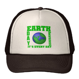 Earth Day It's Every Day Trucker Hat