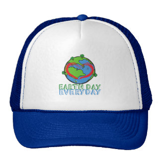 Earth Day: Keep Mother Nature Green & Recycled Cap