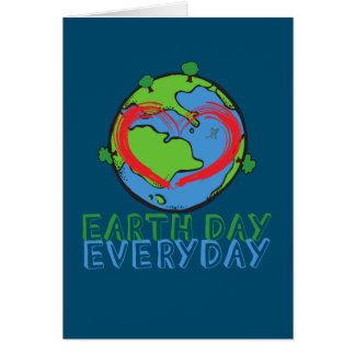 Earth Day: Keep Mother Nature Green & Recycled Card