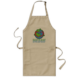 Earth Day: Keep Mother Nature Green & Recycled Long Apron