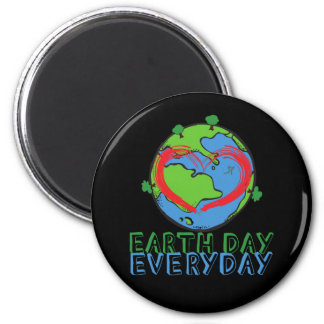 Earth Day: Keep Mother Nature Green & Recycled Magnet