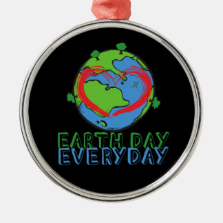 Earth Day: Keep Mother Nature Green & Recycled Metal Ornament