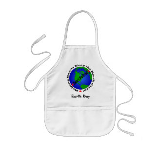 Earth Day Kids Apron