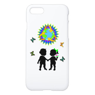 Earth Day Kids iPhone 7 Case