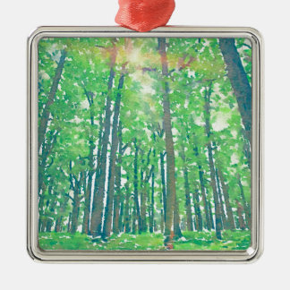 Earth Day Metal Ornament