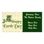 Earth Day Owl Photo Cards
