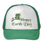 Earth Day Owl Trucker Hat