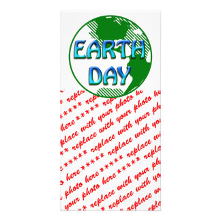 Earth Day - Photo Greeting Card