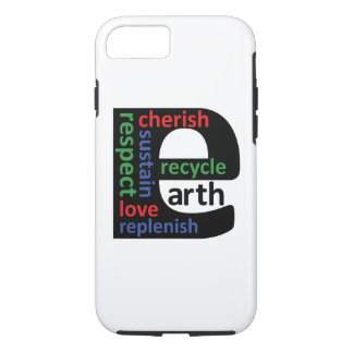 Earth Day Planet E iPhone 7 case by ActionPROS
